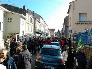 Sarkozy en Ariège = petits fours, lacrymogènes et balles en caoutchouc dans Actualité Photo0091-300x225